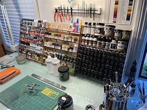 New General Purpose Minitaire Paint Racks Tedlindsey Com