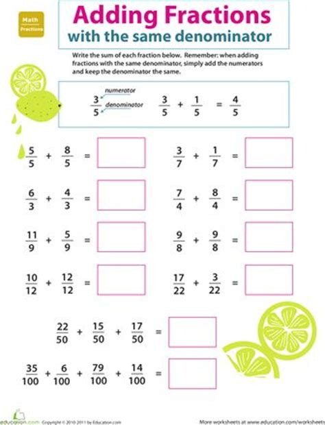 8 Best Images About Printable Math Worksheets On Pinterest