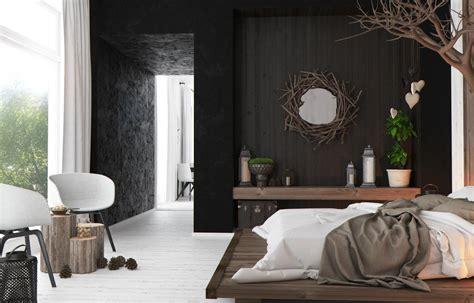 rustic modern bedroom interior design ideas