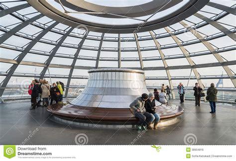 tetto a cupola tetto di vetro della cupola di reichstag tedesco