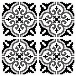 Stickers Imitation Carreaux De Ciment : sticker carreaux de ciment simone ~ Melissatoandfro.com Idées de Décoration