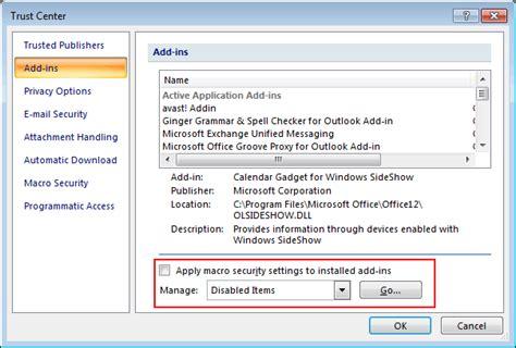 The Add-in Kaspersky Mail Checker C Program Files