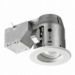 Lithonia lighting wafer in white integrated led