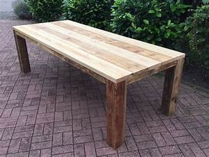 Tisch Aus Holz : gartentisch aus gebrauchtem bauholz ge lt in 2019 holztisch garten gartentisch holz und ~ Watch28wear.com Haus und Dekorationen