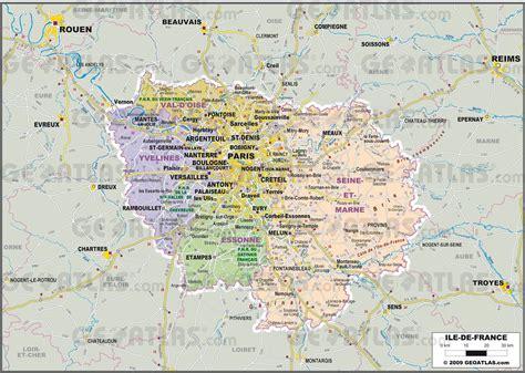 carte de l 206 le de 206 le de carte des villes reliefs d 233 partements