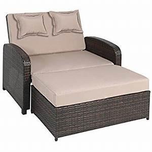 Lounge Sofa 2 Sitzer Outdoor : greemotion 128521 gartensofa bahia lanzarote lounge sofa garten terrasse outdoor ~ Whattoseeinmadrid.com Haus und Dekorationen