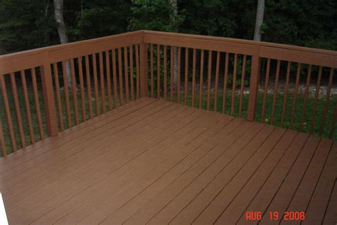 deck power washed primed stained rob ainbinder