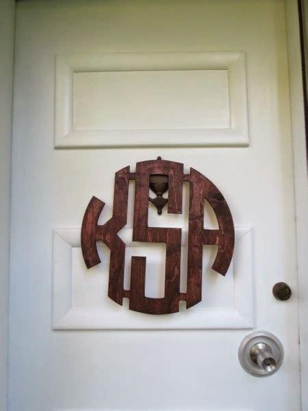 kirsti front door monogram