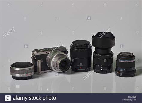 mirrorless interchangeable lens interchangeable lens stock photos interchangeable lens