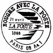 1 Patronal La Poste : bougez avec la poste paris 08 an 1 ~ Premium-room.com Idées de Décoration
