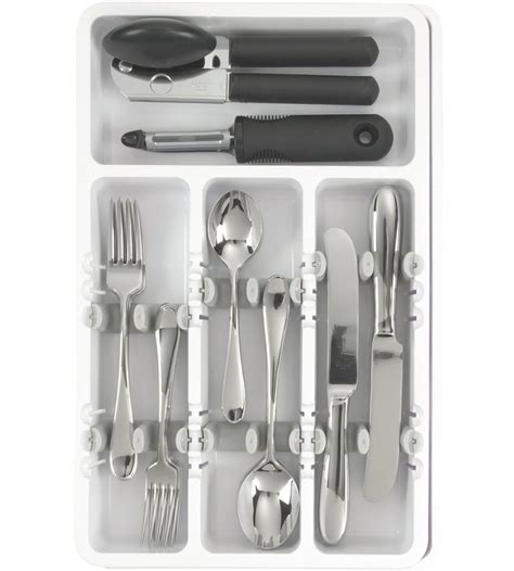 kitchen utensils organizer oxo grips utensil organizer in kitchen drawer organizers 3426