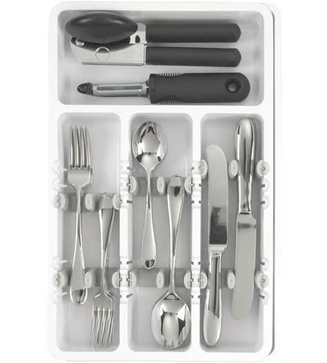 kitchen utensil tray organizer oxo grips utensil organizer in kitchen drawer organizers 6373