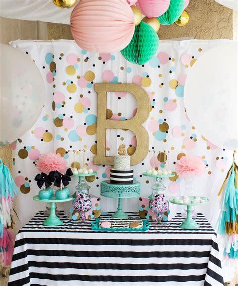 Cue The Confetti!!! Modern & Bright Birthday Party