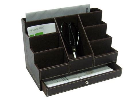 faux leather desk organizer faux leather desk organizer from niva creative design ltd