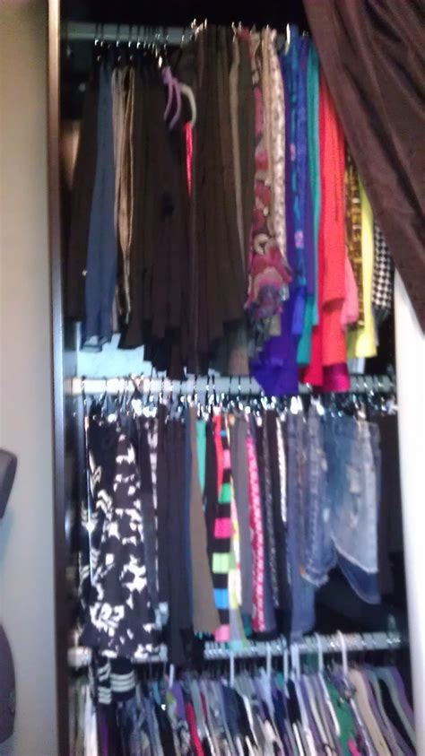 how an ikea closet system can turn a small closet into big