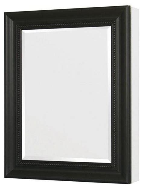 black recessed medicine cabinet 24in x 30in recessed or surface mount mirrored medicine