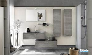 Meuble Salle De Bain : meubles salle de bains bois delpha unique 90 espace aubade ~ Teatrodelosmanantiales.com Idées de Décoration