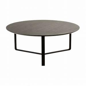 Table Basse Ronde Maison Du Monde : table basse ronde noire maisons du monde ~ Teatrodelosmanantiales.com Idées de Décoration