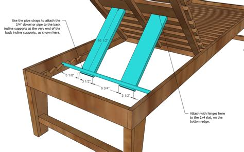 diy build a chaise lounge plans free