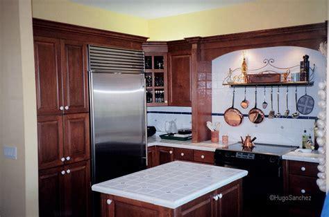 California style kitchen   Céramiques Hugo Sanchez Inc