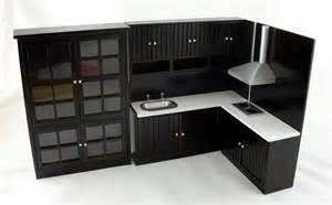 miniature dollhouse kitchen furniture dollhouse miniature modern jacobean oak kitchen