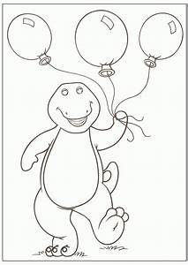 Barney Coloring Pages To Print | WHANCO#MYLITTLESWEET ...