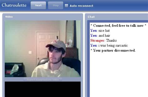 20 Funny Images From Chatroulette Screenshots
