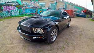 BLACK Mustang GT V6 4.0L 2005 Presentation (FORD) - YouTube