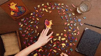 Wooden Puzzle Jigsaw Adults Animal Exciting Suitable