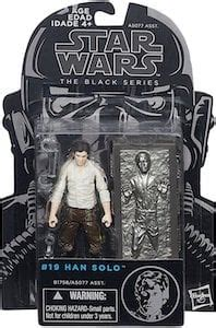 Han Solo with Carbonite Block 19 - Star Wars 3.75 Black ...