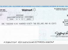 Woman receives fake check claiming to be from Walmart KRCR
