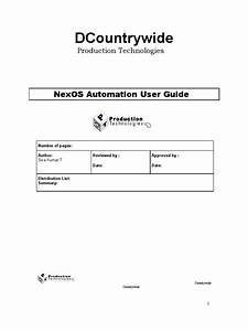Nexos Automation User Guide