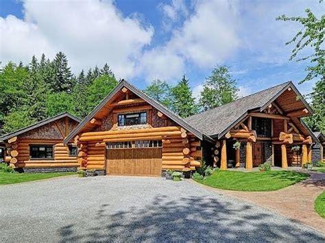dream homes luxury log home  million dollar