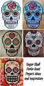 Bügelperlen Kreative Ideen : 39 sugar skull perler bead project ideas and inspiration 39 b gelperlen b gelperlen hama ~ Orissabook.com Haus und Dekorationen