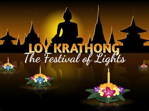 loy krathong celebrated