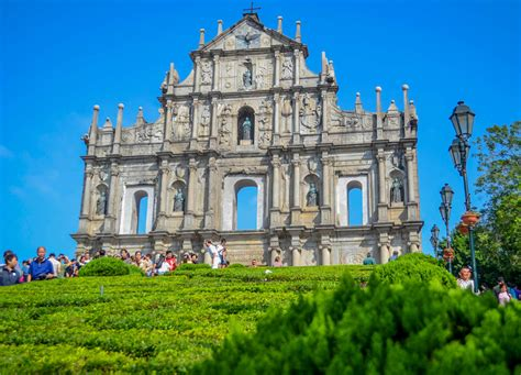 Top 10 Tourist Attractions In Macau