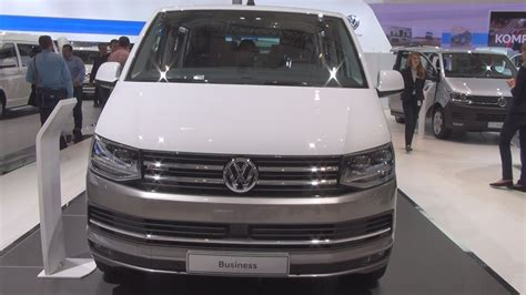 vw t6 multivan highline volkswagen transporter t6 multivan highline 2017 exterior and interior in 3d