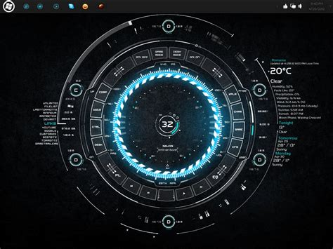 63 New & Best Rainmeter Themes & Skins For Windows Pc 2014