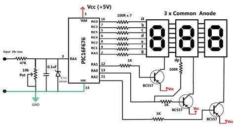 Volt Meter With Picf