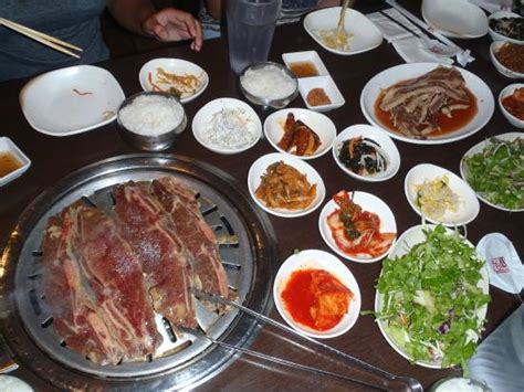 sides for ribs on the grill sides and ribs picture of omi korean bar grill carrollton tripadvisor