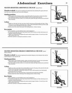 Abdominal Exercises  Seated  Resisted  Abdominal Crunch