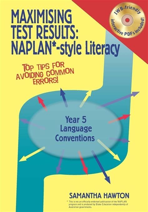 Maximising Test Results  Naplan*style Literacy Year 5  Language Conventions Blake