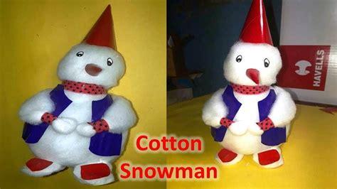 cotton snowman    doll christmas