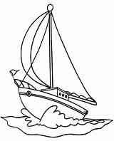 Coloring Boat Sailboat Pages Sailing Drawing Boats Colouring Printable Transportation Nautical Drawings Sail Easy Yacht Speed Templates Sailboats Cartoon Cars sketch template