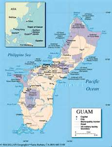 Puerto Rico and Guam Map