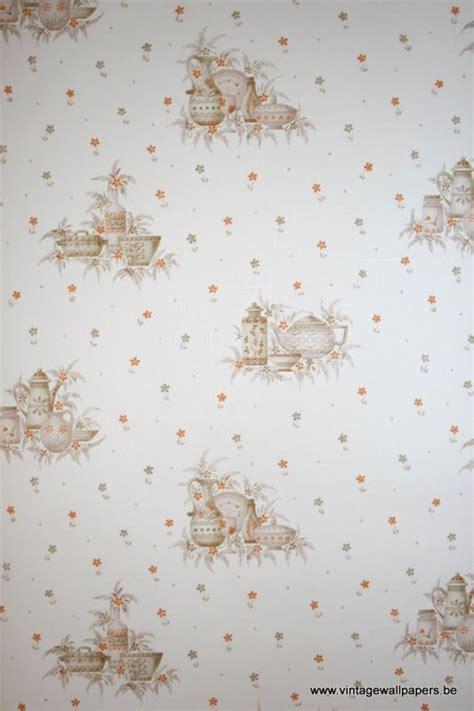 retro wallpaper kitchen kitchen vinyl wallpaper