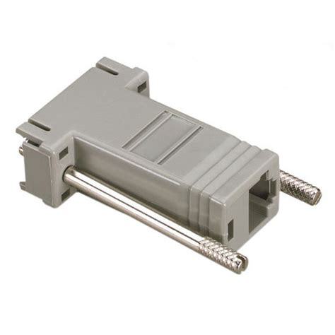 modular adapter kit thumbscrews db9f rj45f black box