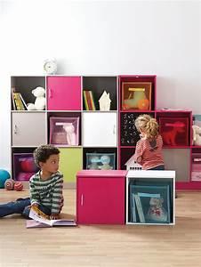 Meuble De Rangement Cube : 1000 ideas about meuble de rangement enfant on pinterest ~ Melissatoandfro.com Idées de Décoration