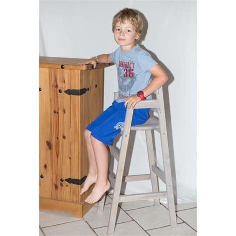 chaise pour table haute chaise haute enfant pour table bar