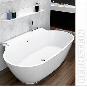 Freistehende Badewanne Mineralguss : bernstein design badewanne freistehende wanne luxx mineralguss armatur ebay ~ Sanjose-hotels-ca.com Haus und Dekorationen